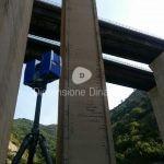 Rilievo laser Scanner di viadotti autostradali