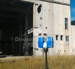 Rilievo Laser scan di Fabbricati industriali